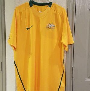 Australia Nike Fit/Dri Fit Jersey National Team